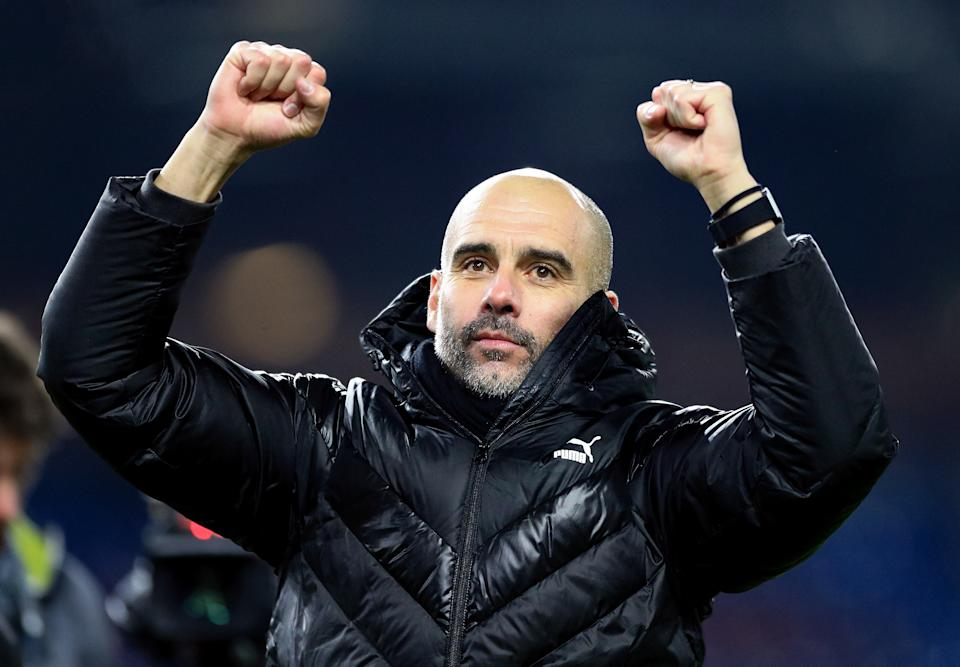 Pep Guardiola guided Manchester City to the Premier League title yet again. (Photo by Matt McNulty - Manchester City/Manchester City FC via Getty Images)