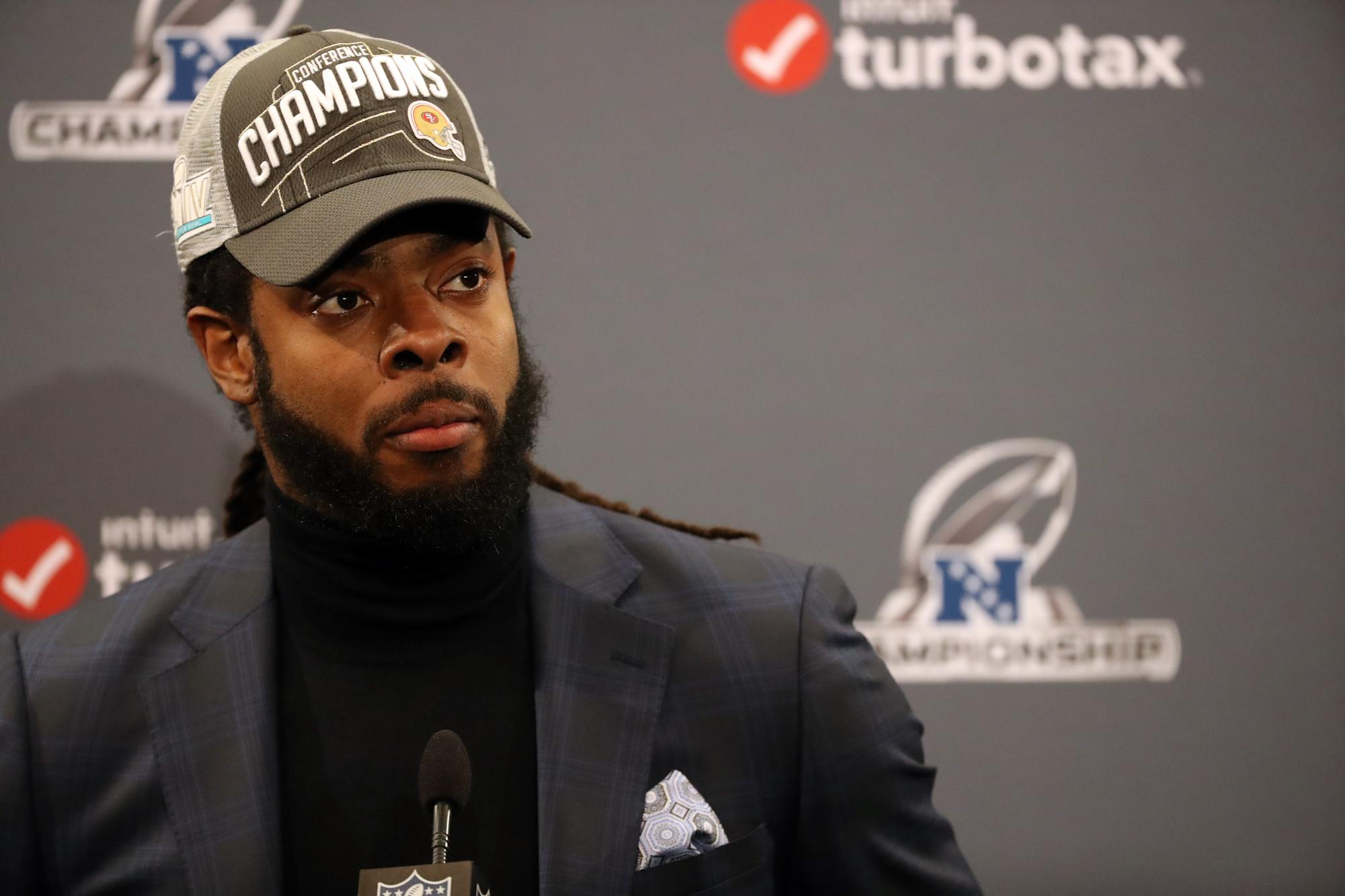 Sherman arrested, being held without bail