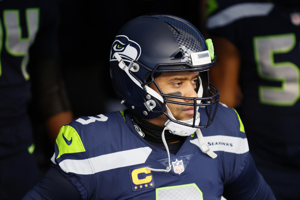 Russell Wilson was on an MVP pace last season until the Seahawks scaled back the offense. (Photo by Steph Chambers/Getty Images)