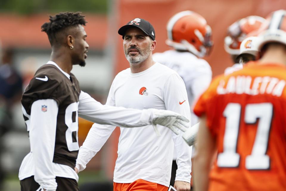 Cleveland Browns coach Kevin Stefanski was a great hire last year. (AP Photo/Ron Schwane)