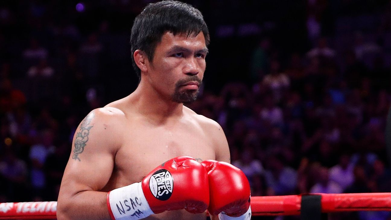 Pacquiao, Spence make Aug. 21 fight official