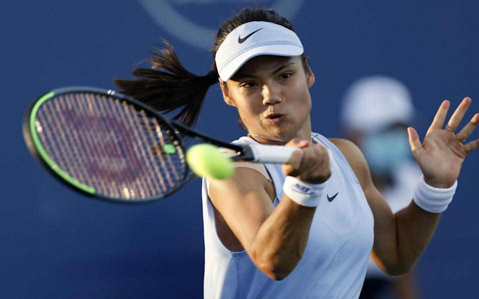 Raducanu will now play in qualifying for the US Open - SHUTTERSTOCK