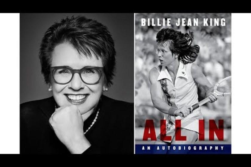 How to watch Billie Jean King discuss 'All In' and her lifelong fight for gender equity