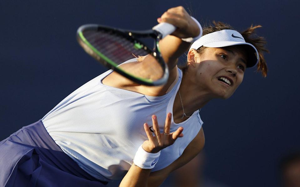 Emma Raducanu continued her impressive form in the USA - SHUTTERSTOCK