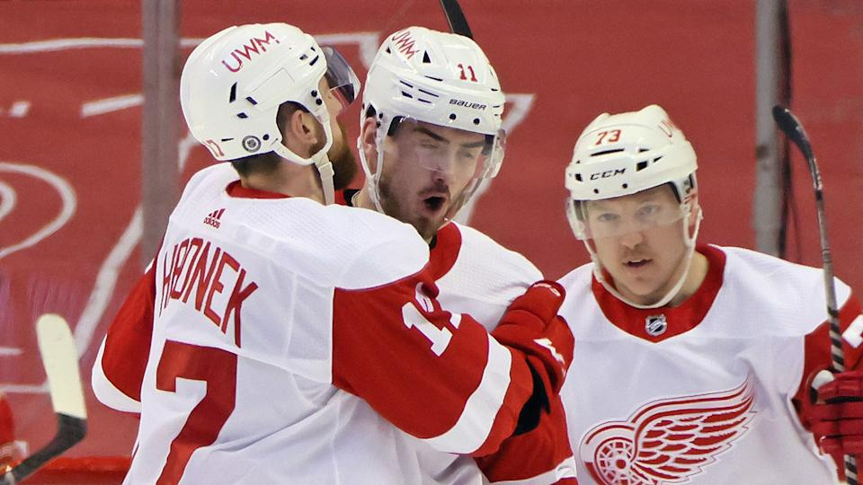 The Red Wings still have a long road in front of them to return to playoff contention. (Photo by Bruce Bennett/Getty Images)