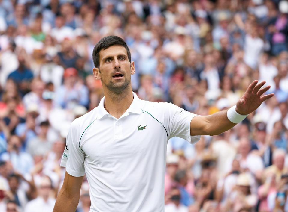 Novak Djokovic will look to win the calendar year Grand Slam at the U.S. Open.