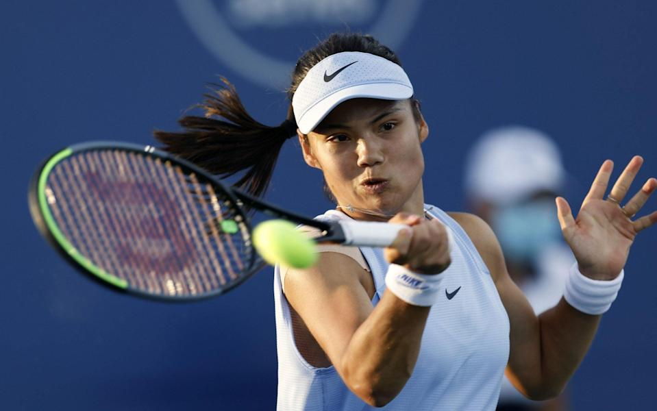 Emma Raducanu gets US Open qualifying boost as she aims to maintain fine form - SHUTTERSTOCK