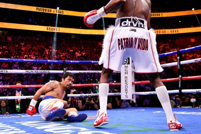 Defeated Pacquiao says open to rematch with Ugas