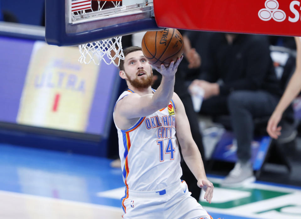 Report: Mykhailiuk had interest from 'several contenders' before signing with Toronto