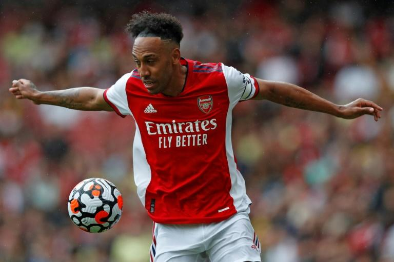 Aubameyang treble lifts Arsenal gloom in League Cup