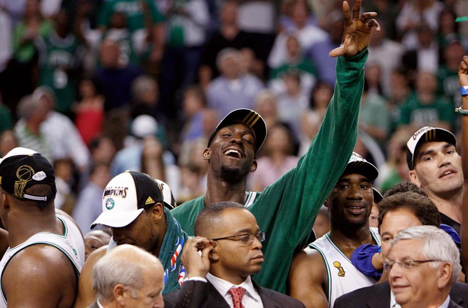 WATCH: Should the Boston Celtics retire iconic big man Kevin Garnett's number?