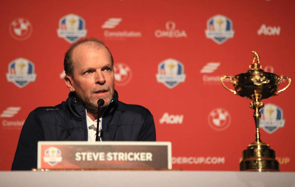 Lynch: U.S. needs Steve Stricker to use Ryder Cup picks to buck the buddy system that made him captain