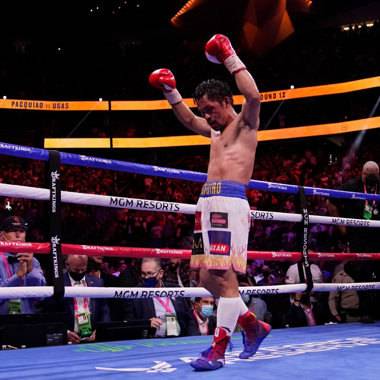 Spence 'grateful' he caught eye injury in time