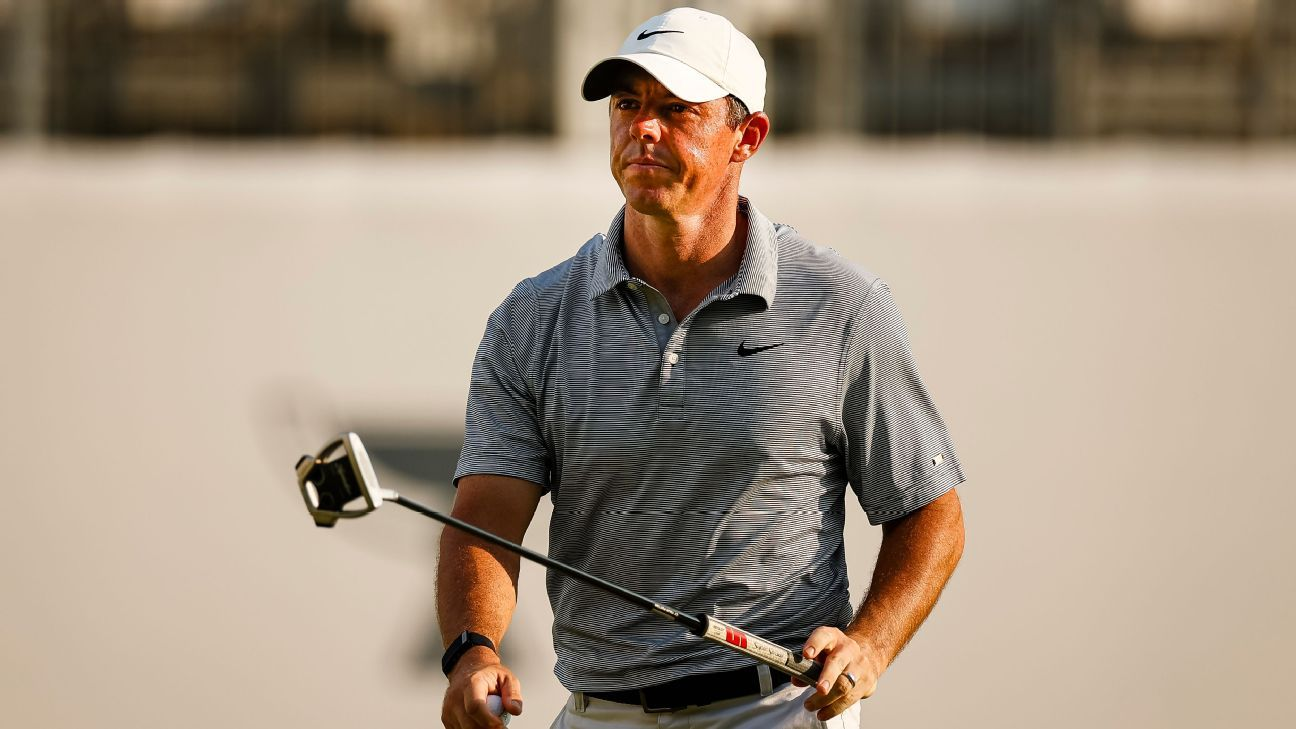More-rested Rory (64) shares early BMW lead