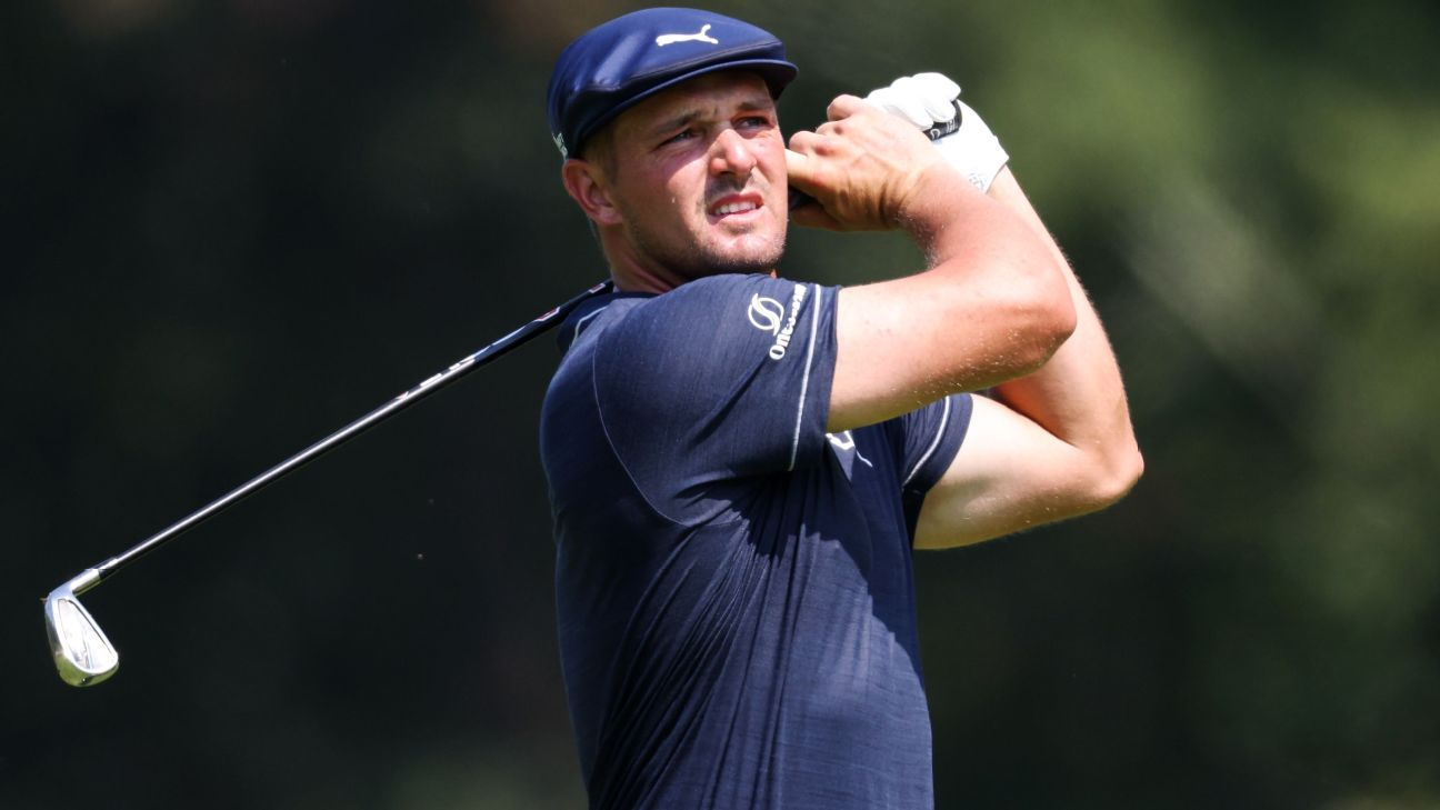So close: Bryson misses 6-footer, settles for 60