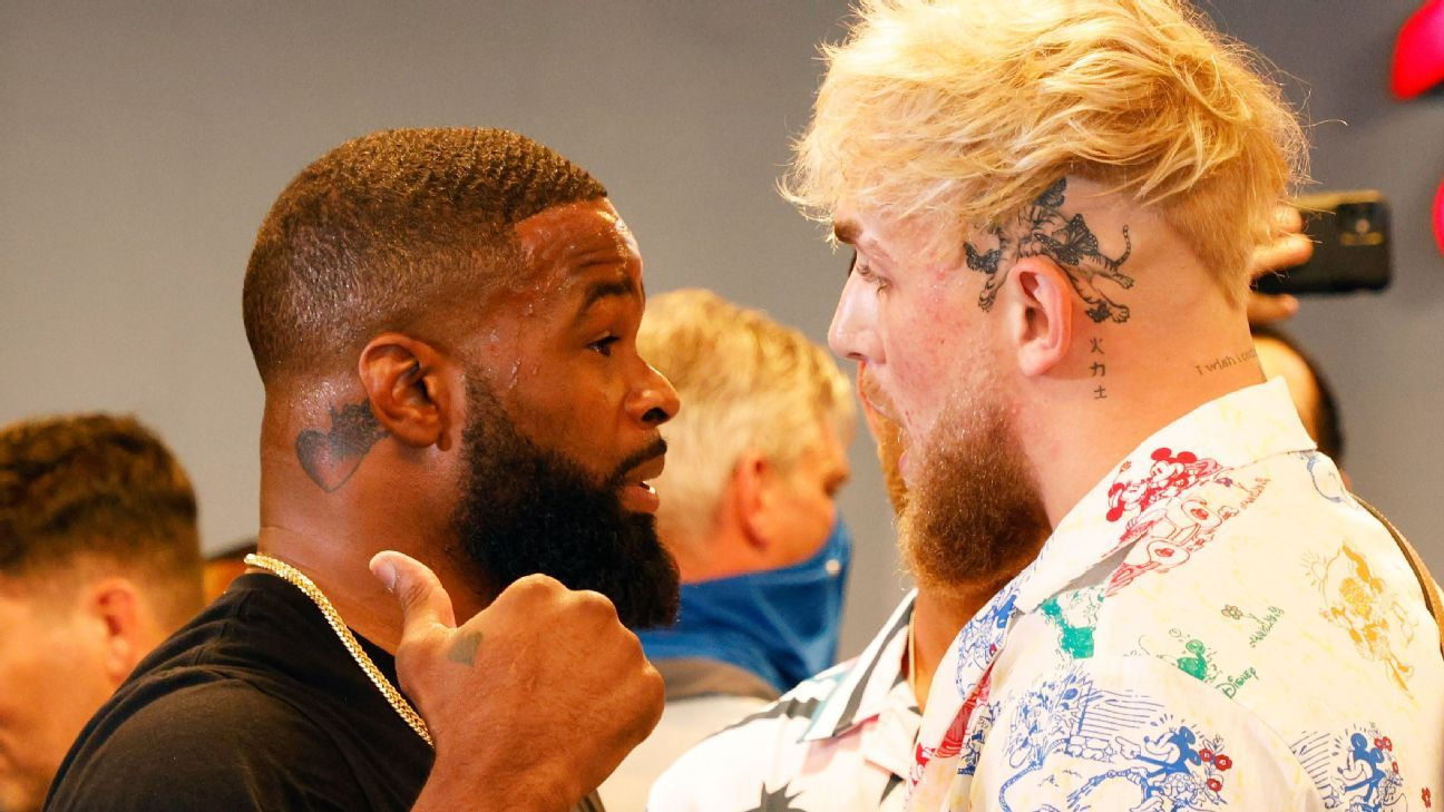 Jake Paul-Tyron Woodley live results and analysis