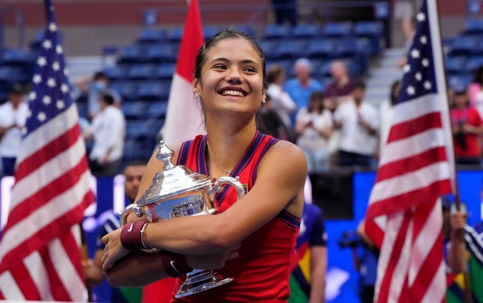 In-demand Emma Raducanu delays return to tennis after fairytale US Open triumph - AFP
