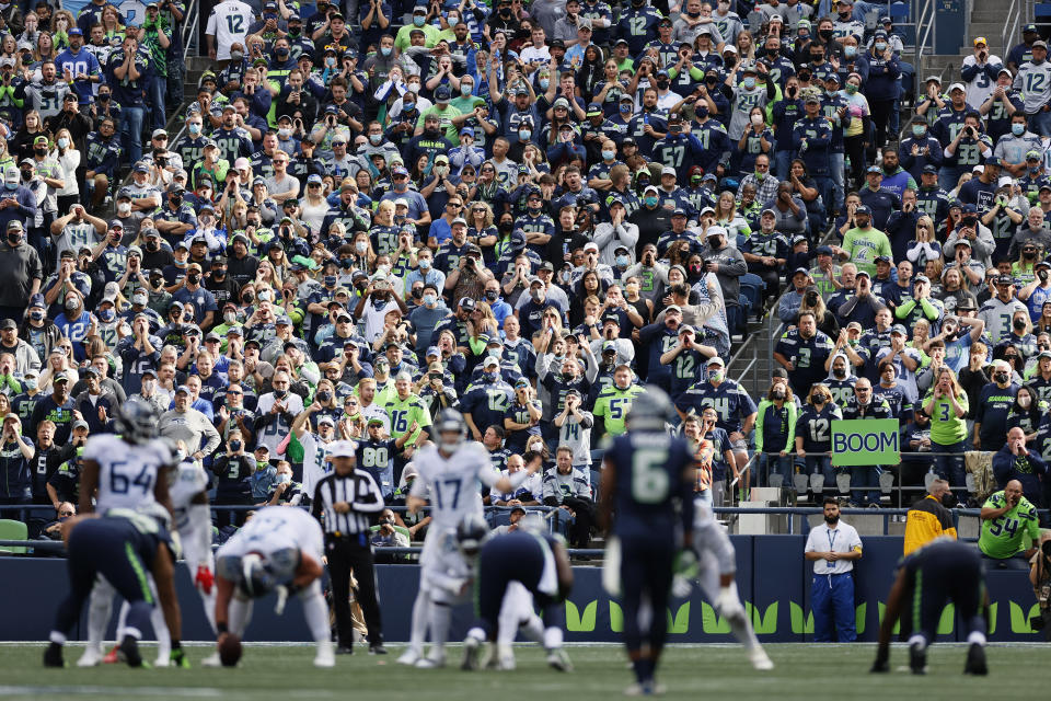 Even in places like Seattle, home-field advantage seems to be disappearing. (Photo by Steph Chambers/Getty Images)