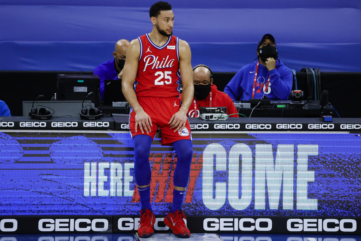 Simmons holding firm in Philly exit strategy