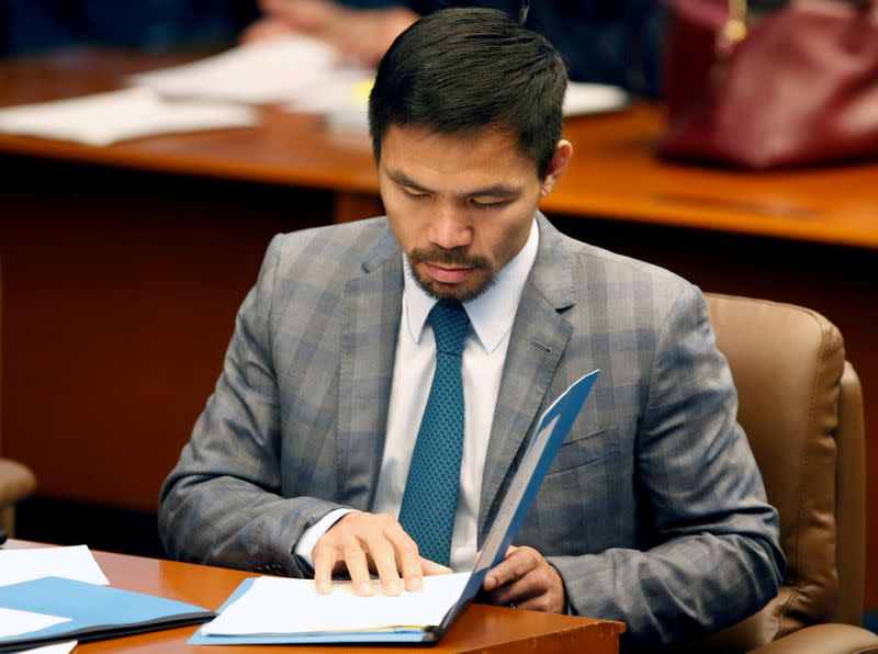 Pacquiao faces toughest fight yet in run for Philippines presidency