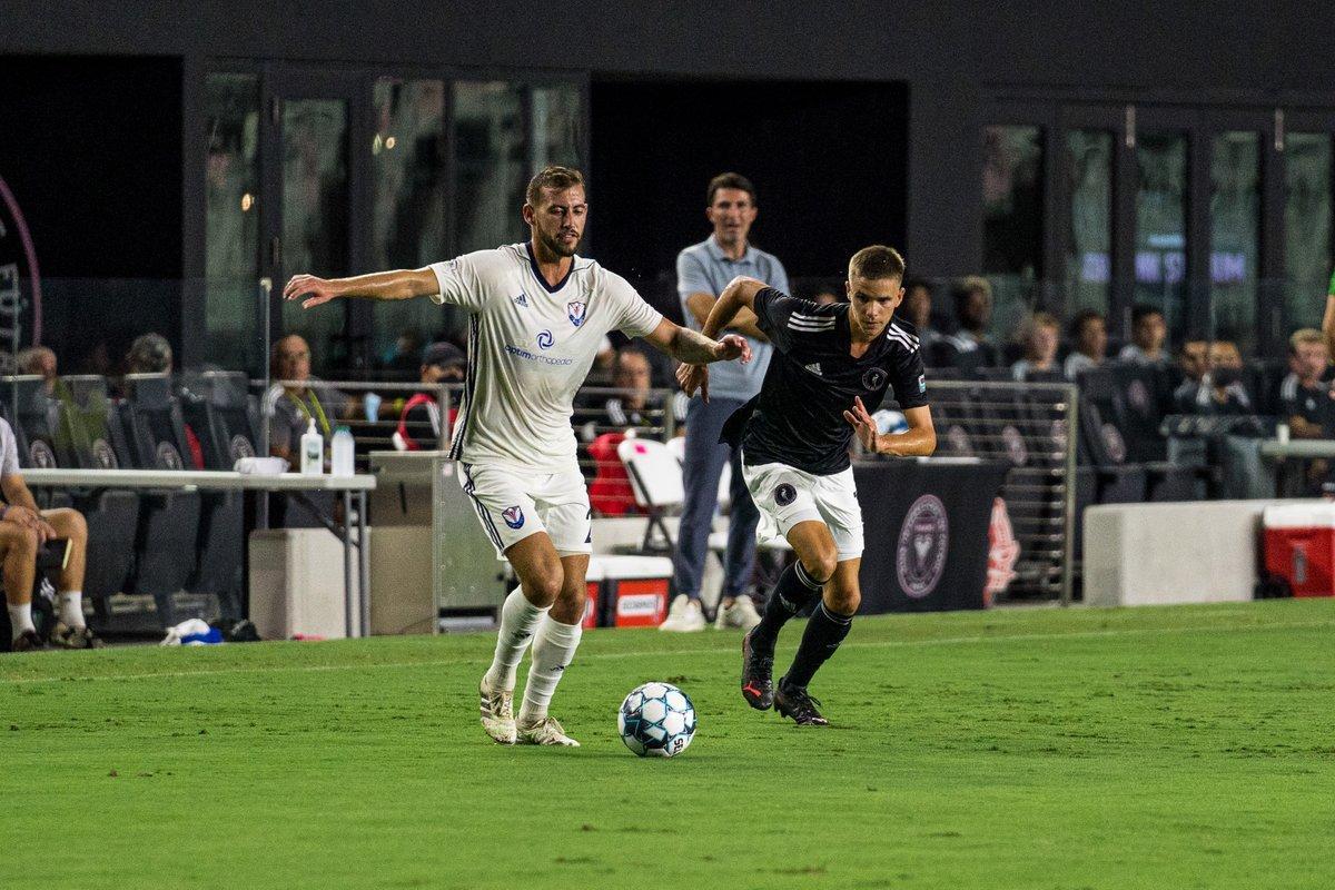Romeo Beckham makes pro debut for Fort Lauderdale