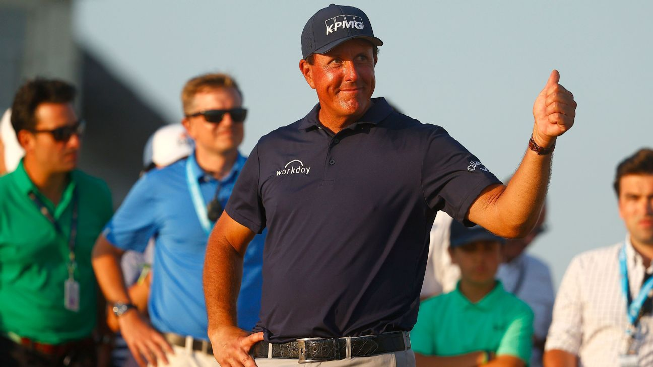Mickelson won't play, will serve as Cup assistant
