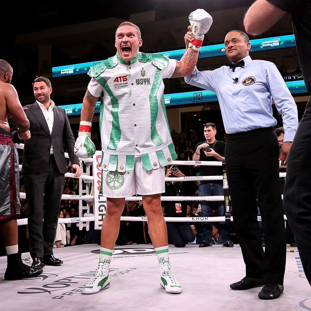 Anthony Joshua wary of southpaw Oleksandr Usyk ahead of world title defense