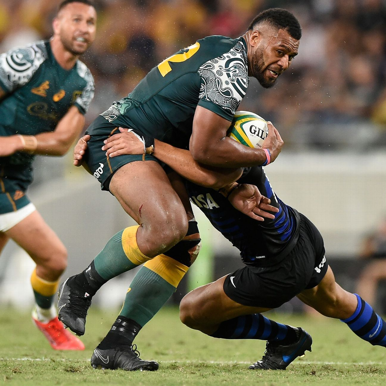 Holmes, at 38, says Wallabies have 'depth in all positions at the moment'