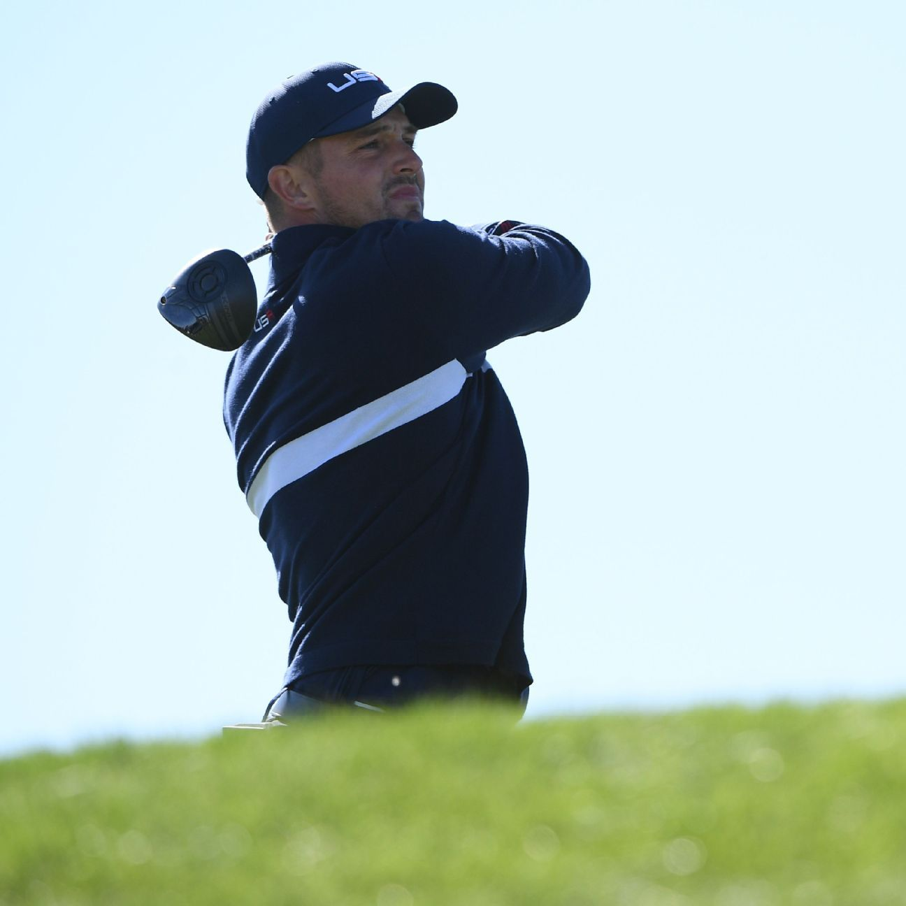Going the distance? Bryson makes long drive cut