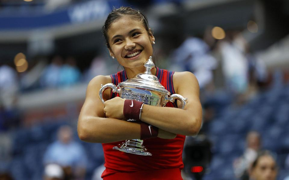 Emma Raducanu advising Amazon over multi-million pound investment in women's tennis - SHUTTERSTOCK