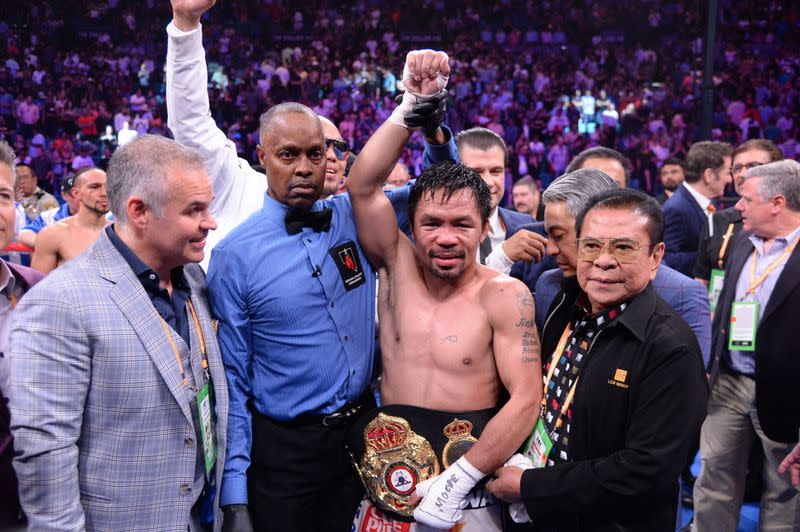 Boxing-Pacquiao quits 'greatest sport in the world' to contest Philippines presidency