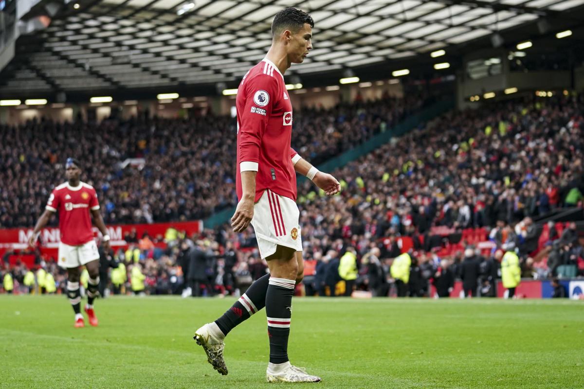 Frustration mounts for Ronaldo, Man United