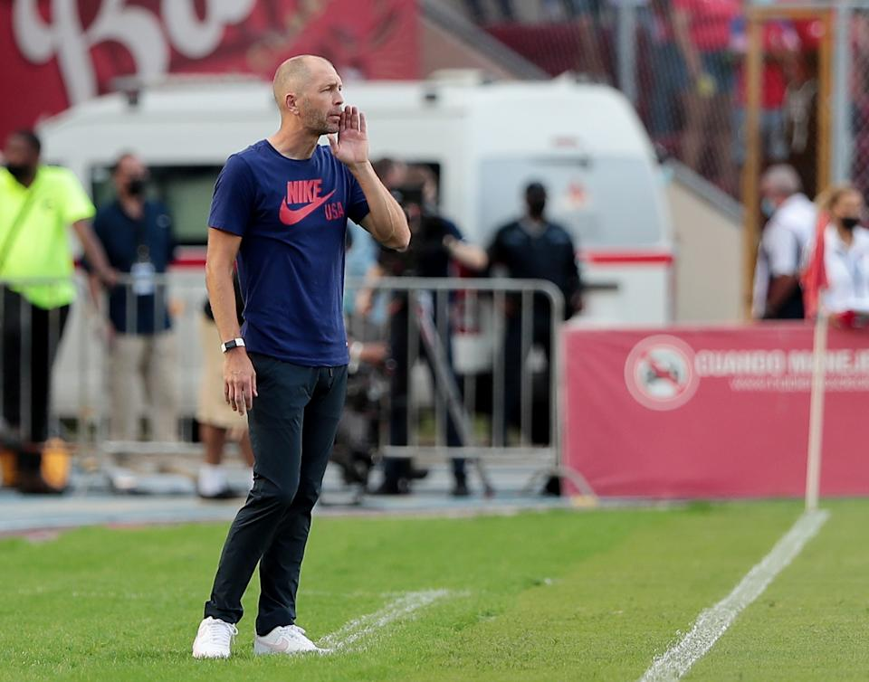Gregg Berhalter got too cute in tinkering with his lineup against Panama, and it cost the USMNT in World Cup qualifying. (REUTERS/Erick Marciscano)