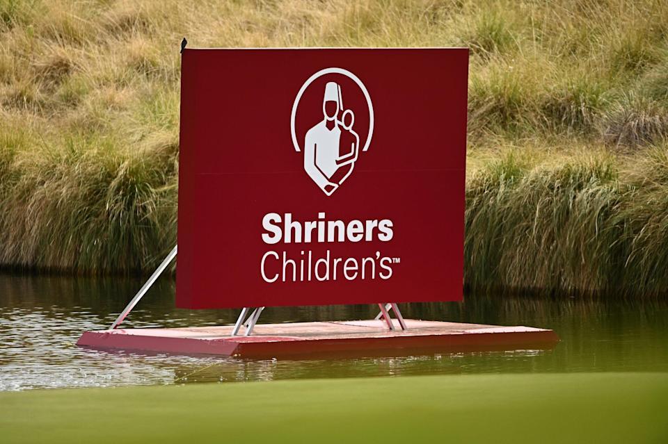 Shriners Children's Open Sunday tee times, TV info