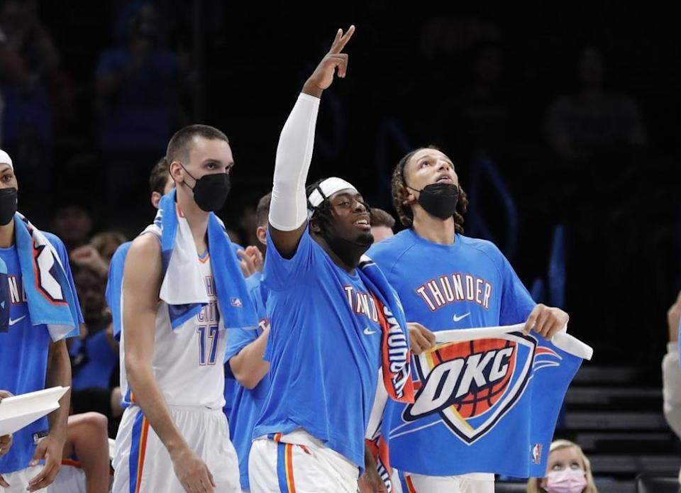 Thunder forward Mamadi Diakite out indefinitely with left hip fracture