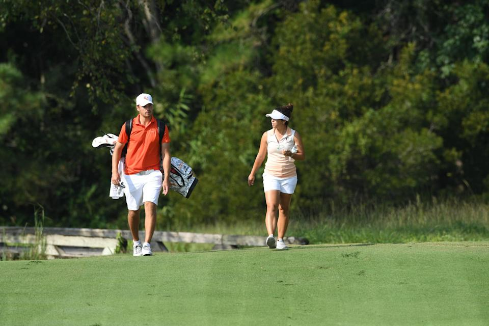 At Campbell, men's assistant Ashley Sloup and veteran head coach John Crooks team up as one of college golf's most interesting duos