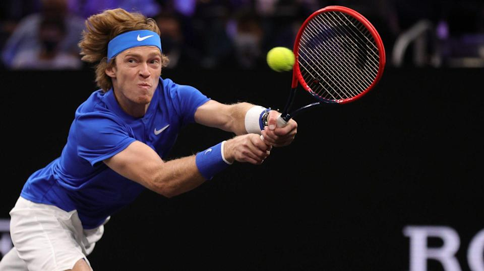 Top-seeded Rublev overpowers Nakashima in San Diego Open