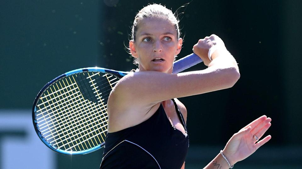 Top-seed Pliskova wins, Muguruza loses at Indian Wells