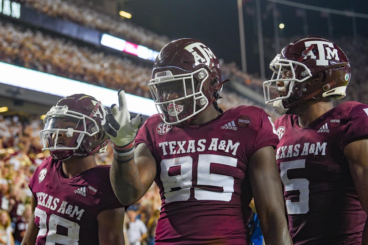 Texas A&M slays the giant: No. 1 'Bama falls