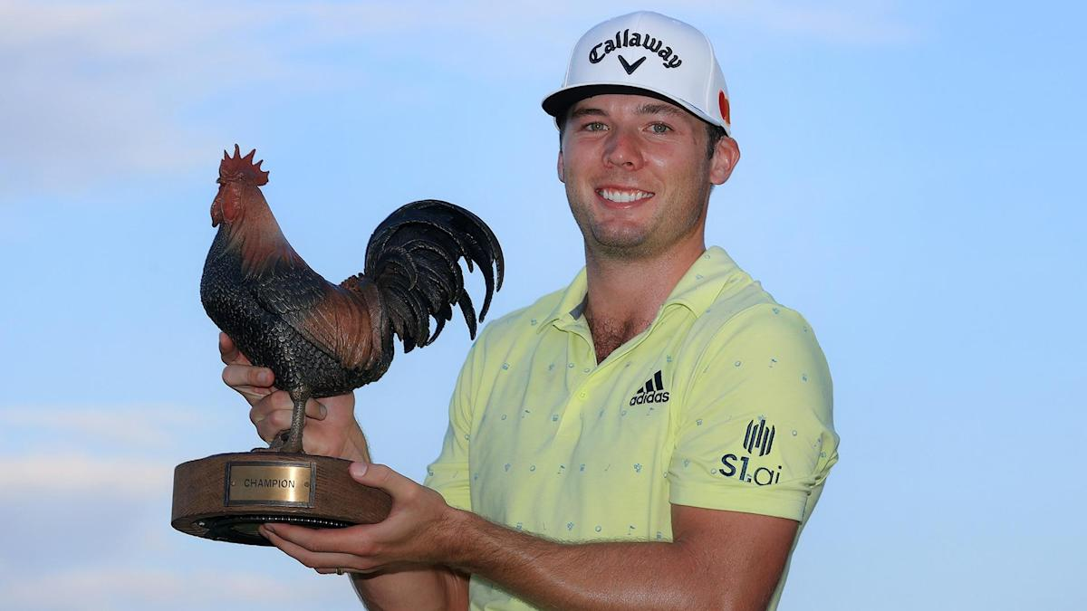 Burns shows why he's a rising star on PGA Tour