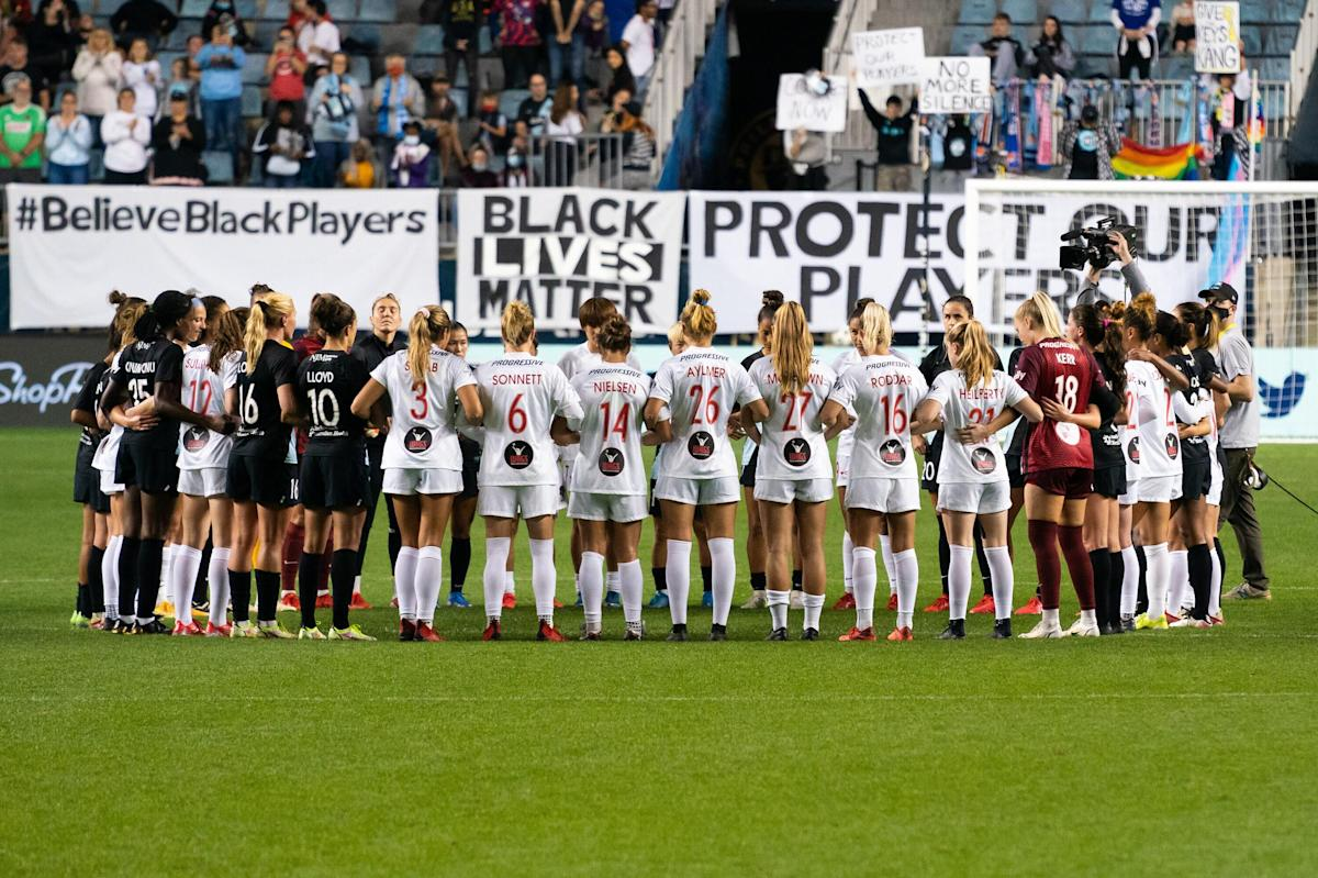 """D.C. United players pledge 'to be an ally"""" for Washington Spirit, NWSL"""