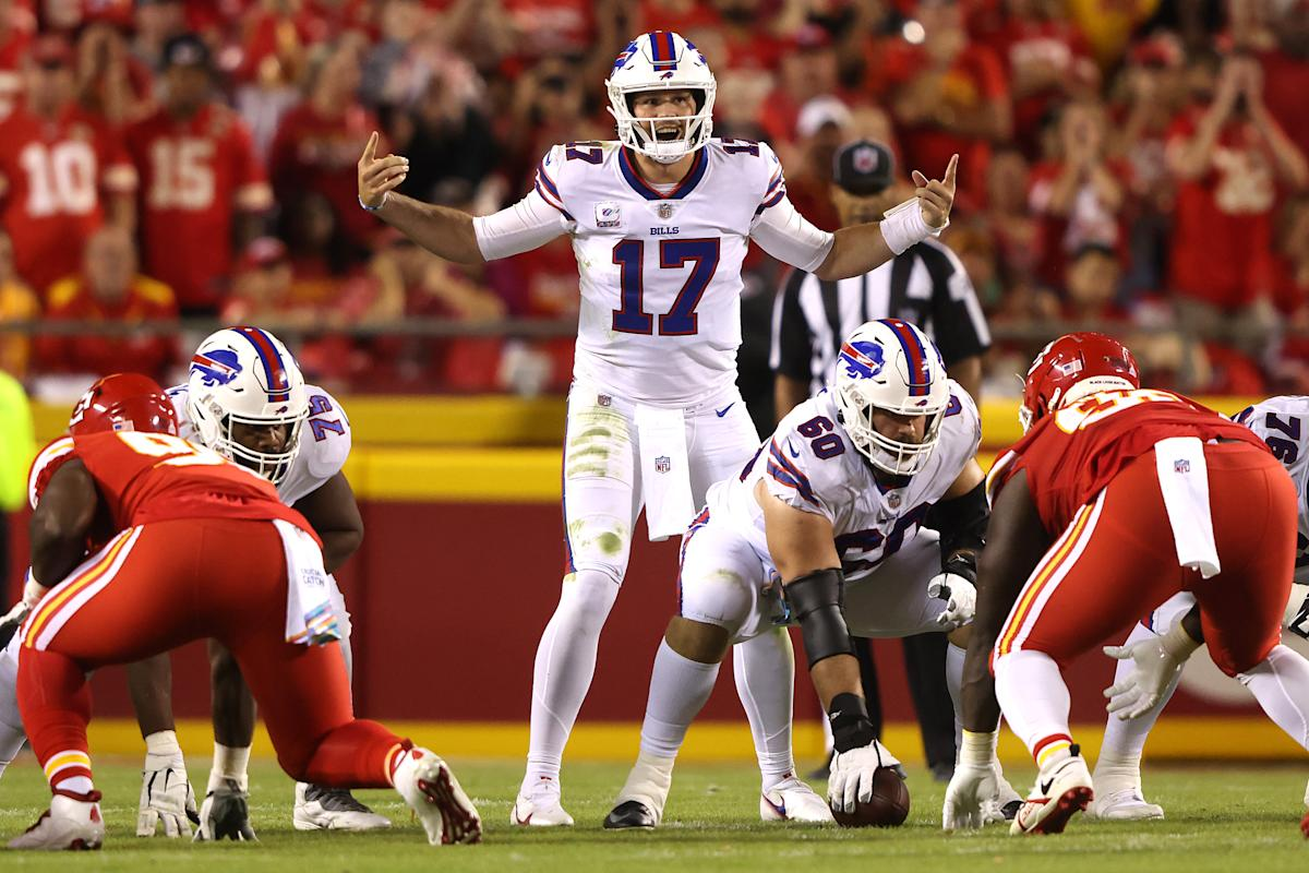 Bills whip Chiefs, look like team to beat in AFC
