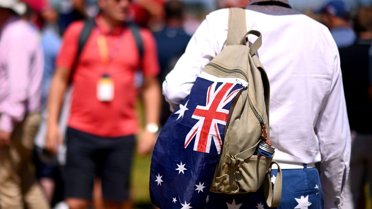Golf Australia cancels men's and women's Opens